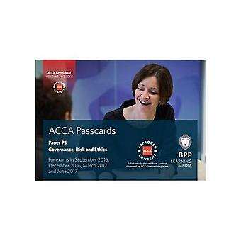 ACCA P1 Governance, Risk and Ethics: Passcards