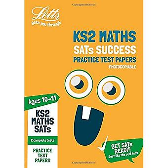 KS2 wiskunde SATs praktijk Test Papers (Photocopiable uitgave): 2018 proeven (Letts KS2 SATs succes) (Letts KS2 SATs)