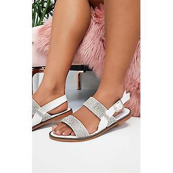 IKRUSH Womens Luca Diamante Strappy sandalen