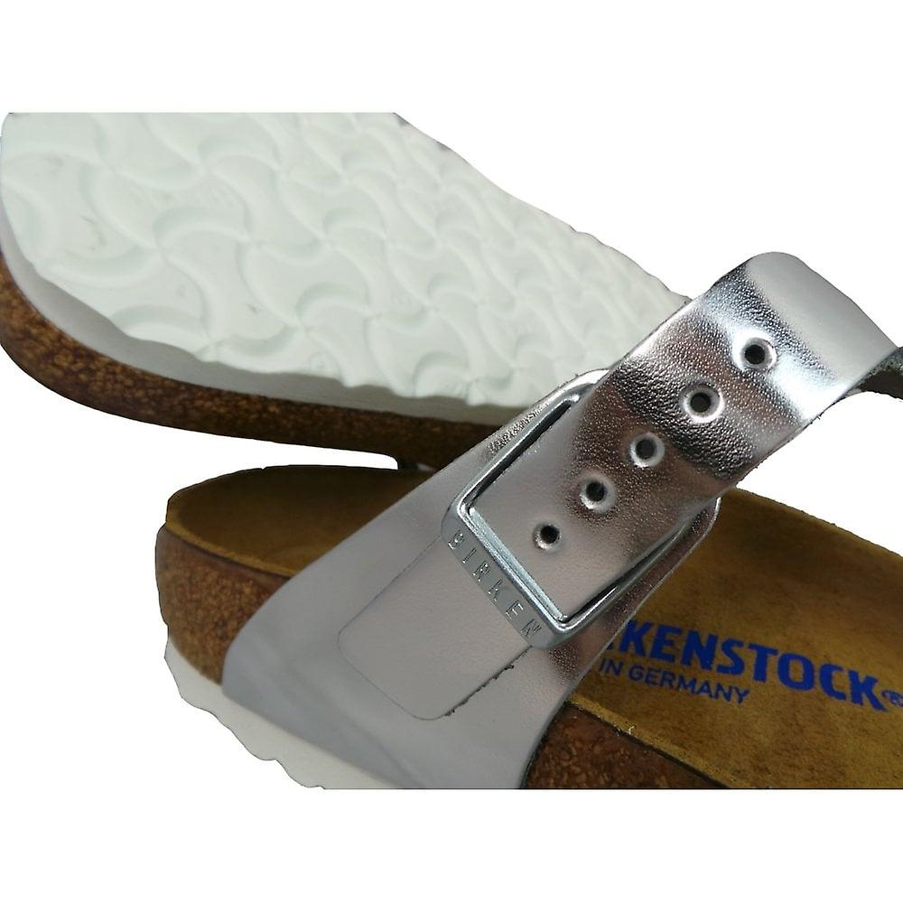 Birkenstock Ladies Footwear Gizeh Metallic