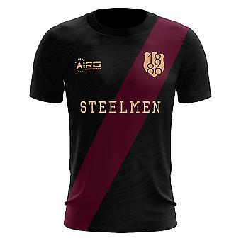 2020-2021 Motherwell Third Concept Football Shirt - Womens