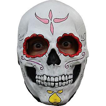Catrina kraniet Latex maske til Halloween