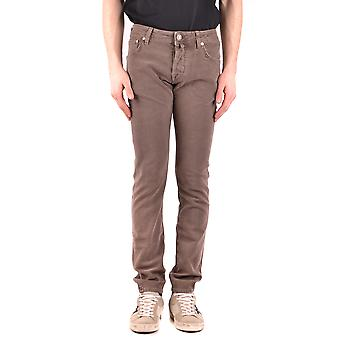 Jacob Cohen Ezbc054233 Hombres's Jeans de Algodón Marrón