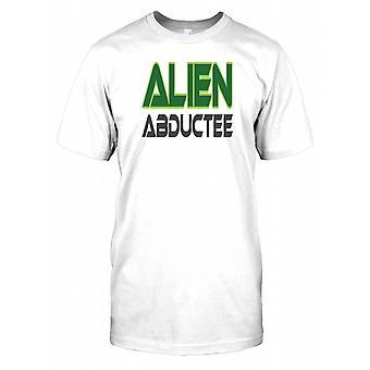 Fremmede Abductee - Funny - konspirasjon Mens T-skjorte