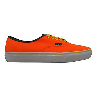 Vans Authentic Neon Orange/Cyber Brite VN0004MLJOF Men's
