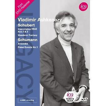 Schubert/Schumann - Vladimir Ashkenazy [DVD] USA import