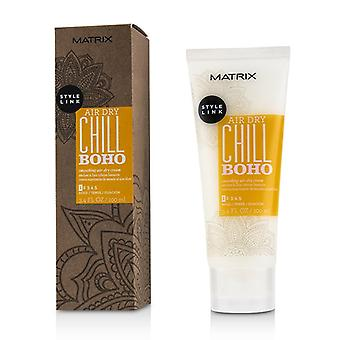 Matrix Style Link Air Dry Chill Boho Smoothing Air-dry Cream (hold 1) - 100ml/3.4oz