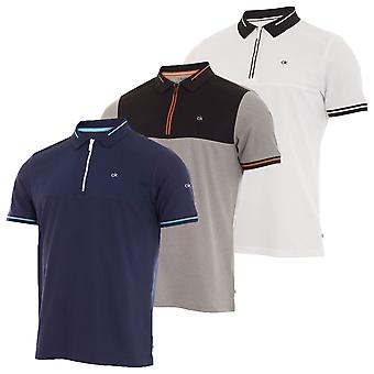 Calvin Klein Hombres Airfoil Polo Camisa