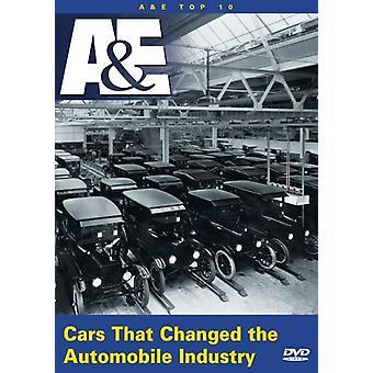Carros que mudaram a indústria automobilística [DVD] importação EUA