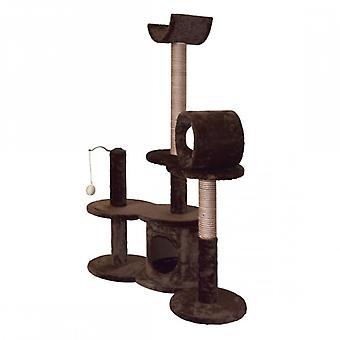 Luckypet Tiragraffi Jeu Cats Cuccia Brown Cuccia Beige Workout Relax 112x60x30