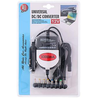 Universal Dc Convertor for Laptop 12V 3300mA Car Truck Van Output 15V to 24V