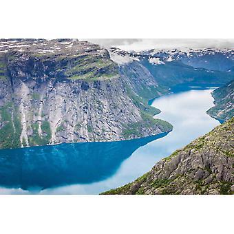 Wallpaper Mural Fiorde Norueguês