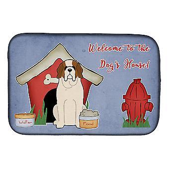Dog House Collection Saint Bernard lautasen kuivaus matto