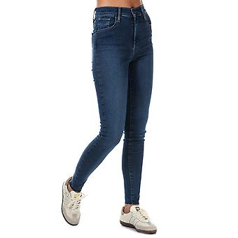 Womens Levi's Mile High Super Skinny Jeans In Indigo Infusion