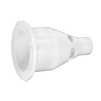 Balboa HA565288WHT Jet Wall Fitting with Adapter