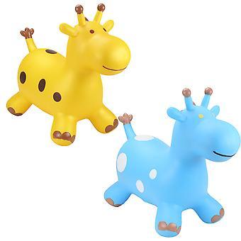 Heureux Hopperz gonflable tour sur - girafes