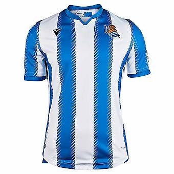 2019-2020 レアル・ソシエダ・ホームシャツ