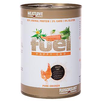 Meatlove Fuel Pure Chicken Can Wet Dog Food - 410g