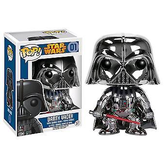 Star Wars Darth Vader Chrome US Exclusive Pop! Vinyl