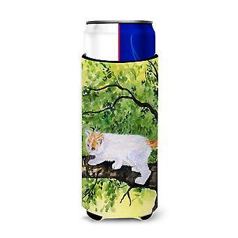 Gato - aisladores de bebida Ultra de Van turco para latas de slim SS8277MUK