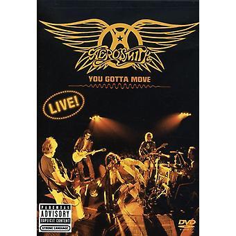 Aerosmith - você tem que mover [DVD] EUA importar