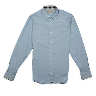 Burberry Cambridge pitkähihainen paita taivas sininen