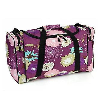 Karabar Glenwood 55cm Flight Bag, Flower lila