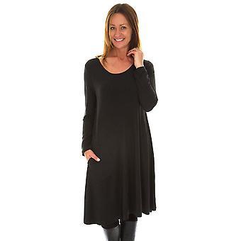 CAPRI Capri Dress SBM 2048B Charcoal Or Denim