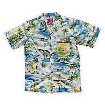 Team phun phlamingo bo mitchel  hawaiin shirt