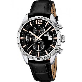 Festina Men's Watch F16760/6 Chronographs