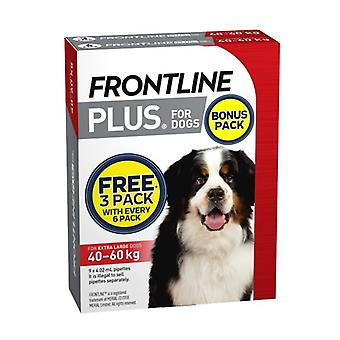 Frontline Plus XLarge Hund 6 Pack Plus 3