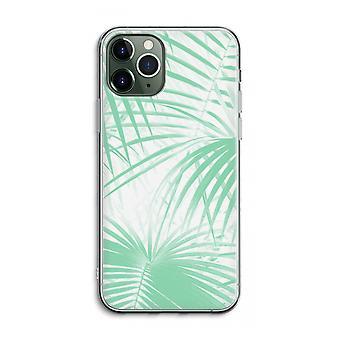 IPhone 11 Pro Max Funda transparente (Suave) - Hojas de palma