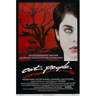 Cat People (Red Border) Affiche originale du cinéma