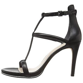Kenneth Cole New York Womens Bertel Fabric Open Toe Special Occasion Ankle St...
