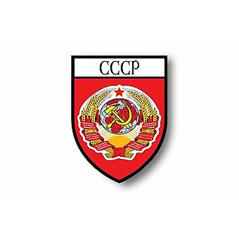 Sticker sticker motorcycle car coat of flag Urss Russian Russian Russian