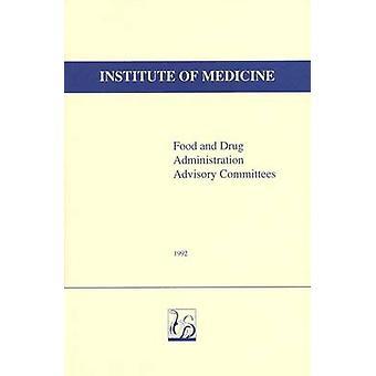 Food and Drug Administration comitati consultivi di Richard A. Rettig