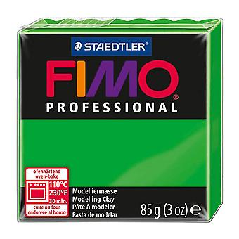 Fimo Professional Modelling Clay, Sap Green, 85 g