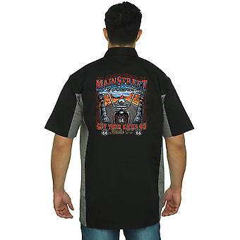 Мужские механические работы рубашку главной улице Америки: получить ваши ногами