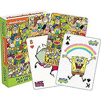 Speelkaart-Nickelodeon cast-Poker spellen New52579