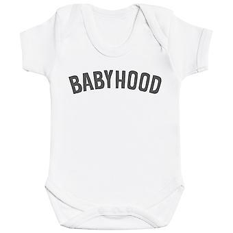 Fatherhood And Babyhood - Matching Set - Baby Bodysuit & Dad T-Shirt