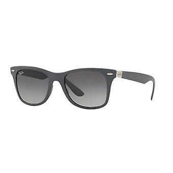 Ray-Ban Liteforce Wayfarer RB4195 6332/11 Matte Grey/Grey Gradient Sunglasses