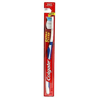 Colgate extra clean toothbrush, soft, 1 ea