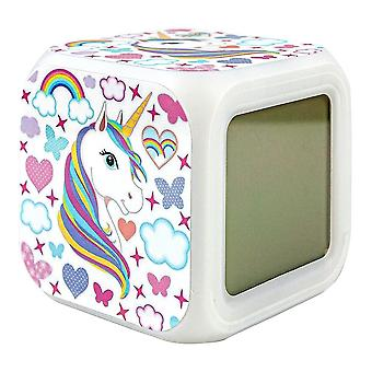 Digital Alarm Clock - Unicorn / Unicorn No.7