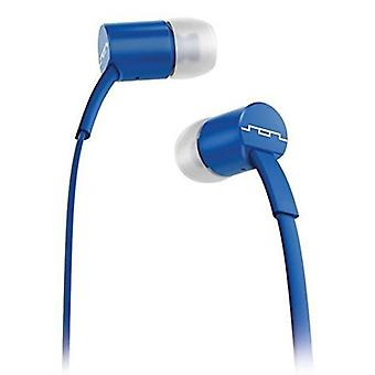 SOL REPUBLIC Jax In-Ear Headphones with Single-Button Remote and Microphone, Royal Blue