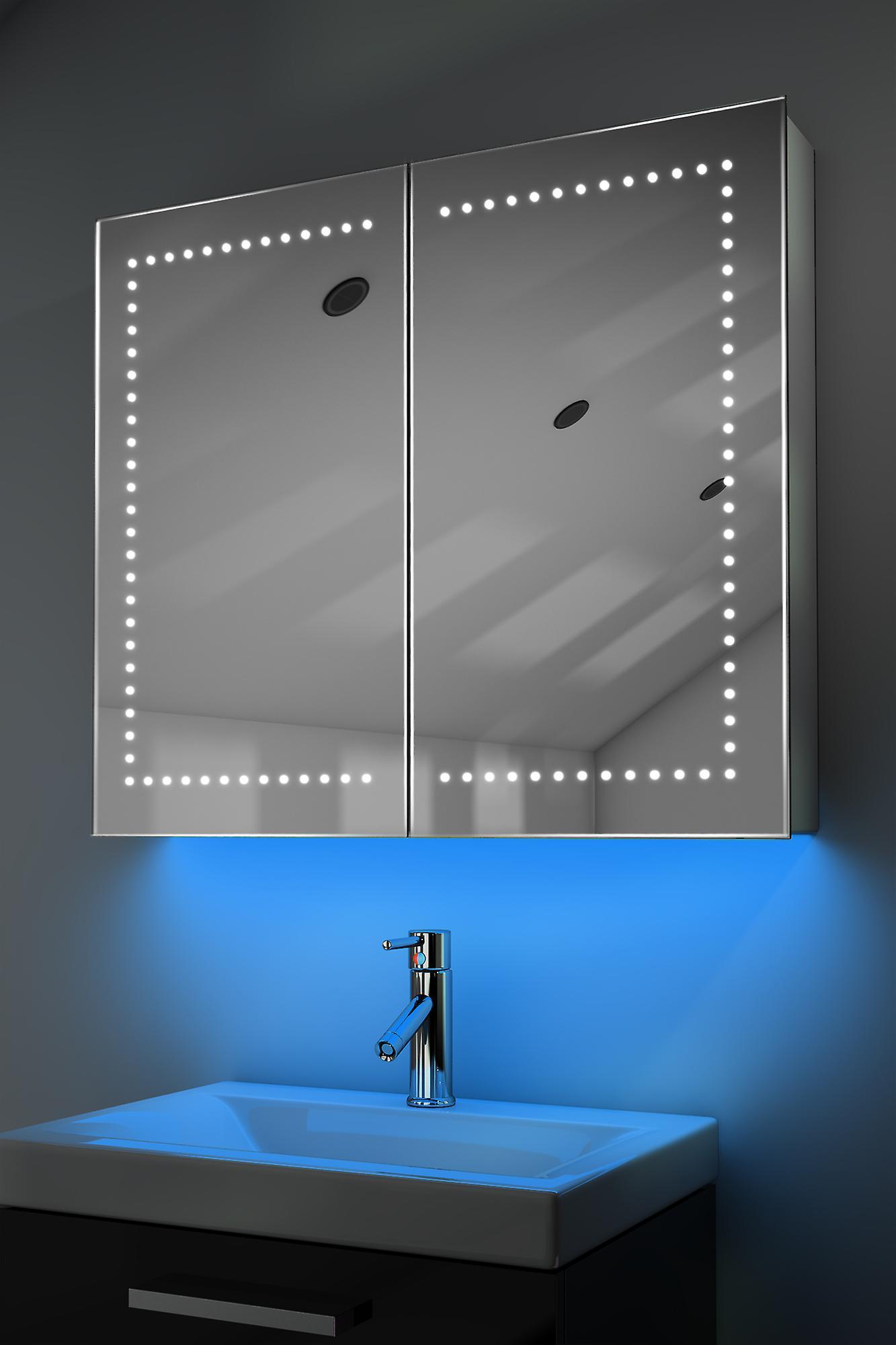 Armoire avec RGB, capteur & interne rasoir k365rgb de désembuage