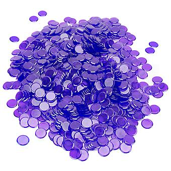 1000 Pack Purple Bingo Chips