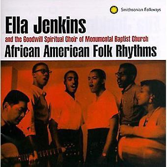 Ella Jenkins - importación de Estados Unidos africano-americano ritmos Folk [CD]