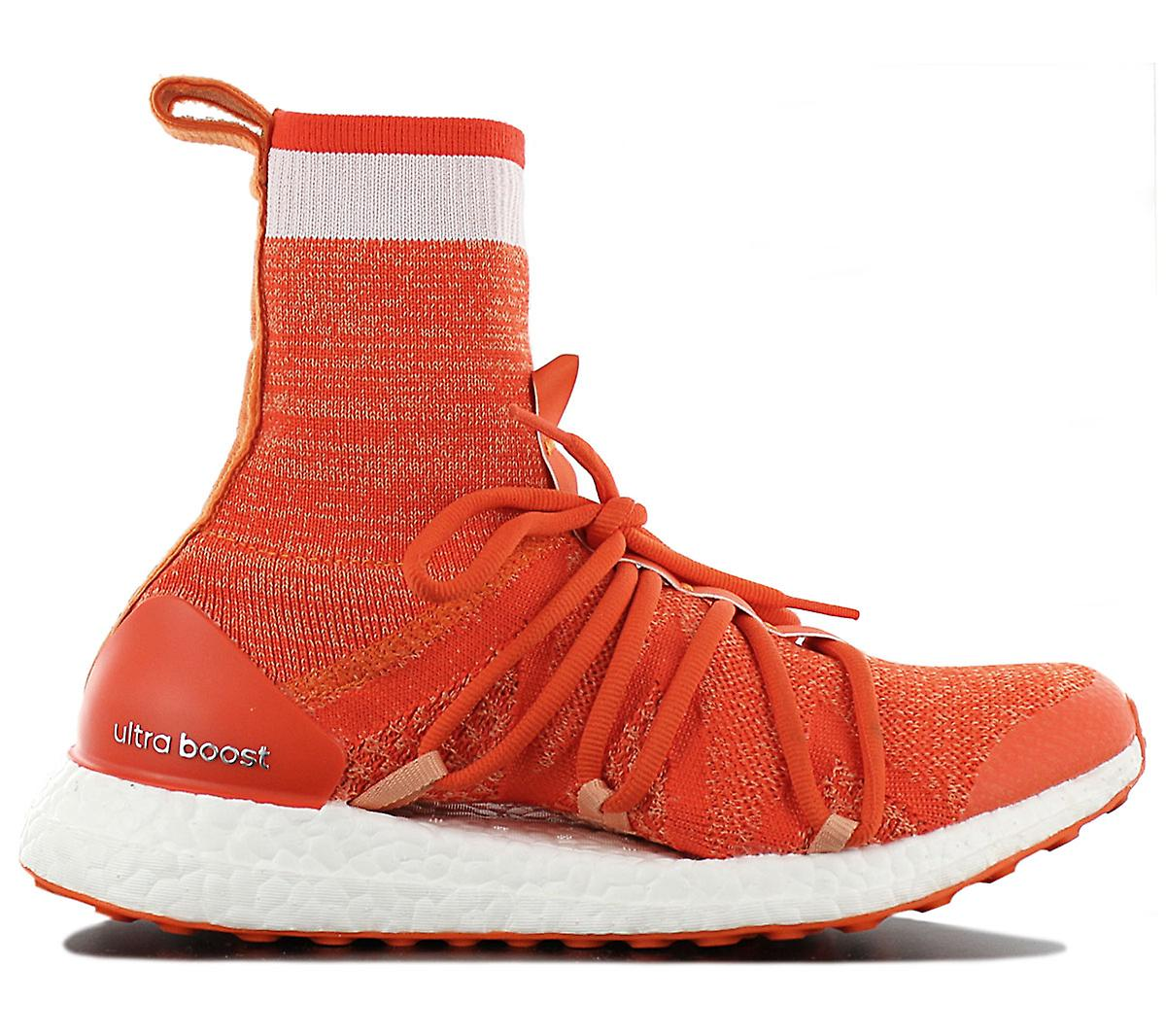 adidas by STELLA MCCARTNEY Ultraboost X Mid CM7736 Damen Schuhe Orange Sneakers Sportschuhe UCVeu