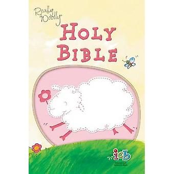 ICB Really Woolly Holy Bible Leathersoft Pink door Thomas Nelson