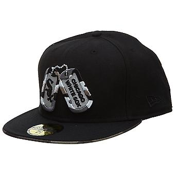 New Era Chicago White Sox Fitted Hat Mens Style : Hat348